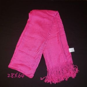 Accessories - NEW Hot Pink Scarf